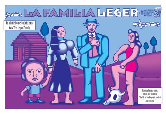 LA FAMILIA LEGER