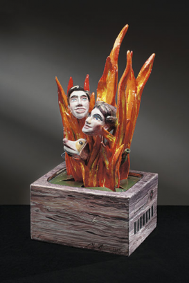 I SEE, I HEAR, I BURN; A FEW NOTES ON THE SCULPTURES OF MILAN KUNC
