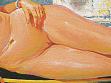 Detail z obrazu Milana Fibigera, Venuše v Benátkách