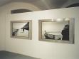 Pohled do instalace výstavy Aleny Kotzmannové a Jiřího Davida Kyjev–Kiev, 21. 5.–24. 6. 2001