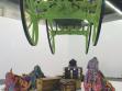 Yinka Shonibare, Dvornost a zločinecké konverzace, 2002, instalace