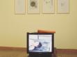 Róza El-Hassan, R. přemýšlí o přelidnění 6 (dar), 2001, foto: József Rosta, Ludwig Museum