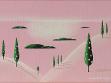 Michal Nesázal, Studie k většímu obrazu, 2003, akryl na plátně, foto: Jan Mahr
