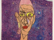 Václav Stratil, Portrét Štefana, 2003, barevné tužky na papíře, foto: Jan Mahr