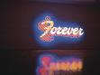 Sue Webster, Tim Noble, Forever (Navždy), 2003, barevný neon