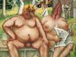 Reinhard Schebner, Bez názvu, malby