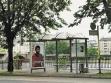 Andrea Kalunić, Artist from... (Umělci z...), 2002, In-situ projekt pro Manifesta 4 ve Frankfurtu, Německo