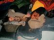 "Bik van der Pol, Sleep with me, 24. 7. 2003 (noční promítání ""Sleep"" od Andyho Warhola v CAC), foto: CAC"
