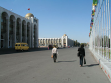 Biškekský bulvár. Repro: Alena Boika.