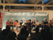 Cream, Who wants to be a feminist?, 2005, Real Feminist Quiz Show at Shedhalle. Repro: code flow 2006.