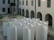 Franka Hornschemeyer, Konditional, 2006, installation, wood.