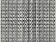 Eduard Ovčáček, Artsy-Fartsy Structure, 1966, typing-machine on paper, 12x12cm.