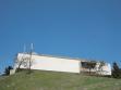 Skopje Macedonia, Museum of Contemporary Art, designed by Klyzeswski, J. Mokrzyński and E. Wierzbicki, built and completed, and still on a hill in Skopje, 2007.