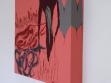 Jakub Hošek: Sawdust and diamonds, 2007, acrylic on canvas, 124 x 20 x 20 cm