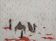 Ladislava Gažiová: Untitled, 2005, acrylic on canvas, 150x110 cm
