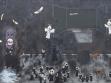 Ladislava Gažiová: Beslan, 2005, acrylic on canvas, 200x120 cm