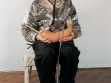 Jiří David, Self Portrait with Something, (1999). Photograph.