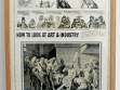 Ad Reinhardt, Comics from the 1950s.