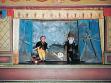 S.d.Ch, Nejsvětější Svátost Oltářní a Matěj Vespertilion, puppet performance from 2004.