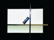 Volker Eichelmann,  Proposals for Sculptures and Buildings,  Dancefloor, 2008  collage on card, 32 x 22,5 cm