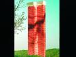 Volker Eichelmann,  Proposals for Sculptures and Buildings  Freilichtskulptur (Teutoburger Wald), 2008  collage on card, 32 x 22.5 cm.