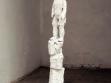 Fallen Orpheus, 2008, Styropor, Puppe, Gips, 120 cm