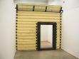 Super flat (2007), polyuretanové dřevo, kovová konstrukce, elektromotor, foto archiv autora.