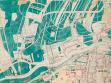F. L. Gahura, Městský plán Zlína, úprava starého centra a továrny, část plánu, 1931, KGVUZ
