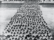 Stadion firmy Bat'a, cvičení Mladých žen, polovina 30. let, KGVUZ