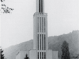 Vladimír Karfík. Roman Catholic Church in Bat'ovany / Partizánske, 1943, MuMB Zlin