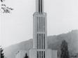 Vladimír Karfík. Římskokatolický kostel v Bat'ovanech/Partizánskem, 1943, MuMB Zlin