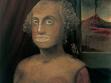 Dad with Tits, 2007, olej na plátně, 60,5 x 48 cm