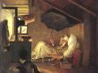 Carl Spitzweg, Chudý básník, 1839