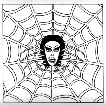 Mike Diana - Spider Girl