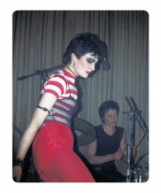 Simon Barker aka Six, Siouxsie – The Lady in Red
