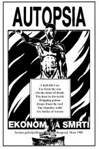Autopsia poster from Weltuntergang Show: Ekonomija smrti (2)