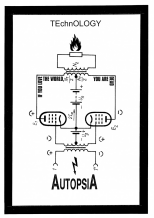 Autopsia poster from Weltuntergang Show: TEchnOLOGY (1)