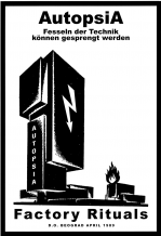 Autopsia poster from Weltuntergang Show: Factory rituals